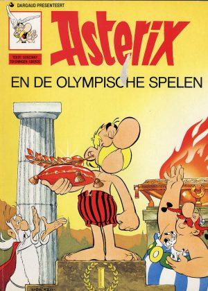 asterix en de olympische spelen.