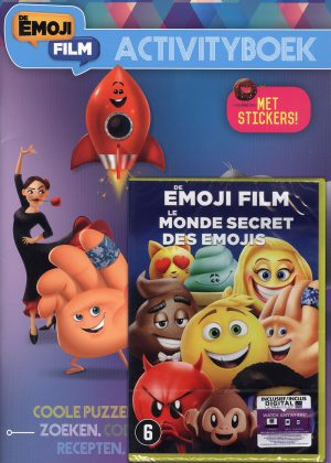 De Emoji Film Activityboek + DVD