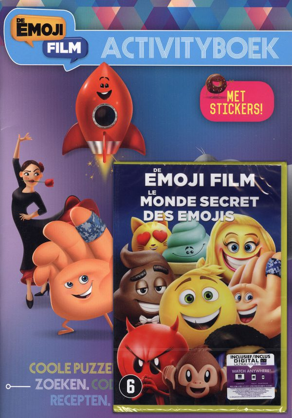 De Emoji Film Activityboek + DVD