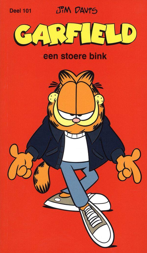 Garfield een stoere bink