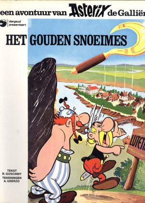 Asterix Het Gouden Snoeimes
