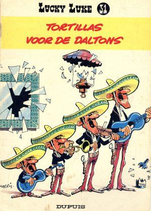 lucky luke_tortillas voor de daltons
