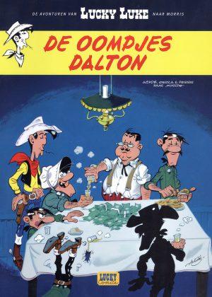 Lucky Luke de oompjes Dalton