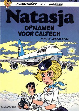 Natasja - Opnamen voor Caltech