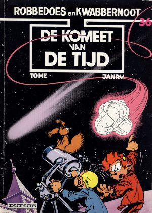 robbedoes de komeet van de rijd