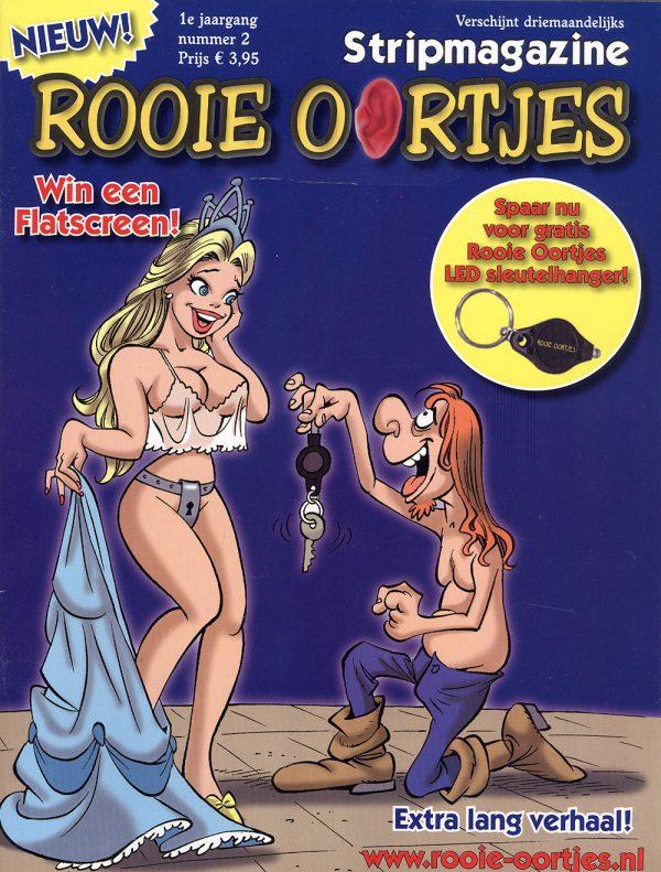 Rooie Oortjes stripmagazine 2