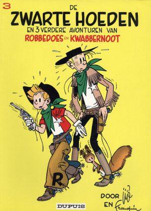 Robbedoes en Kwabbernoot 3 - De zwarte hoeden