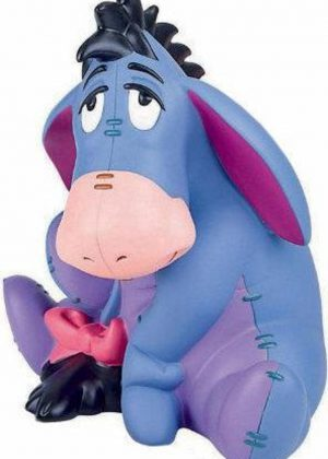 Spaarpot Ezel Iejoor - Winny de Pooh (17,5cm)
