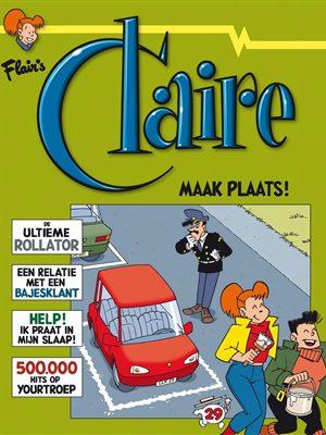 Claire - Maak plaats!