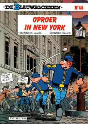 De Blauwbloezen 45 - Oproer in New York