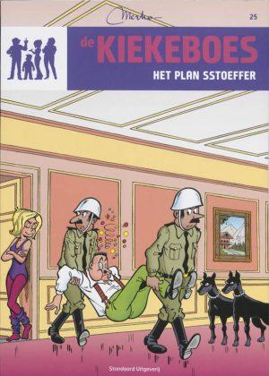 De Kiekeboes 25 - Het plan sstoeffer