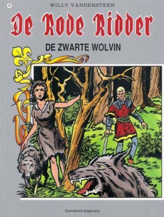 De Rode Ridder 15 - De zwarte wolvin