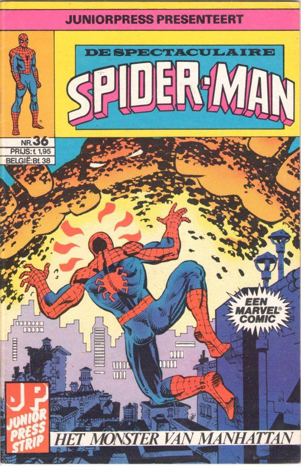 De Spectaculaire Spiderman 36 - Het monster van manhattan