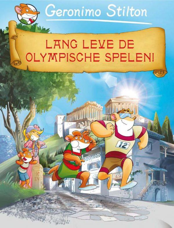 Geronimo Stilton 8 - Lang leve de Olympische spelen!