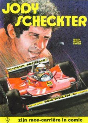 Jody Scheckter - Zijn race-carrière in comic
