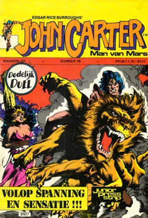 John Carter Maandblad 10 - Dodelijk Duel
