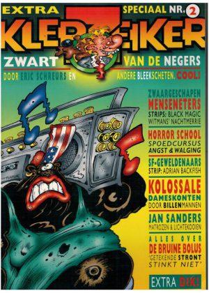 Joop Klepzeiker - Extra speciaal nr. 2 - Zwart van de negers