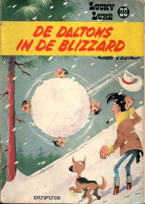 Lucky Luke 22 - De Daltons in de blizzard