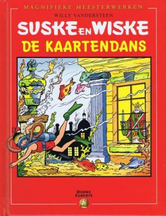 Suske en Wiske - De kaartendans Hardcover (Uitgave Douwe Egberts)