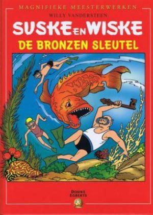 Suske en Wiske - De bronzen sleutel Hardcover (Uitgave Douwe Egberts)