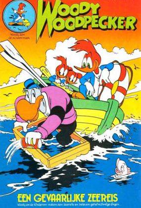 Woody Woodpecker 66 - Een gevaarlijke zeereis