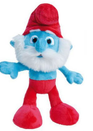 Pluche knuffel grote smurf (45cm)