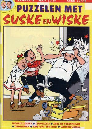 Puzzelen met Suske en Wiske - 16