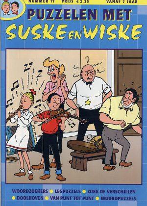 Puzzelen met Suske en Wiske - 17