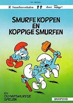 De smurfen - Smurfe koppen en koppige Smurfen / Olympsmurfse spelen