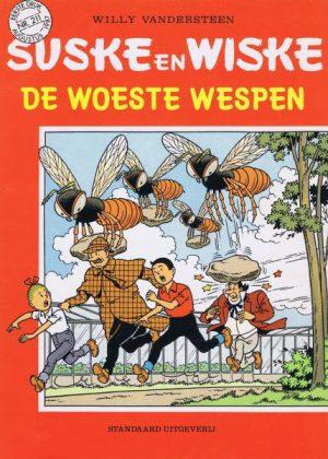 Suske en Wiske 211 - De woeste wespen (1e Druk)