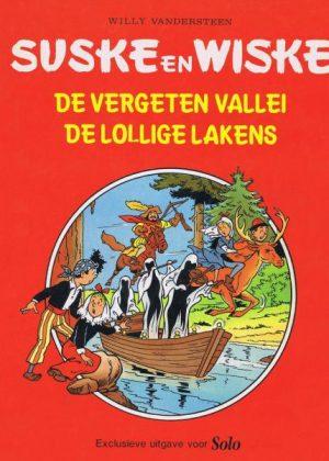 Suske en Wiske - De vergeten vallei (Uitgave Solo)