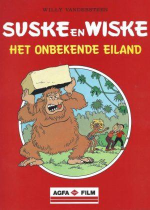 Suske en Wiske - Het onbekende eiland (Uitgave Afga Film)