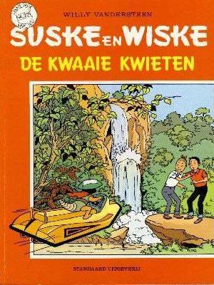 Suske en Wiske 209 - De kwaaie kwieten (1e Druk)