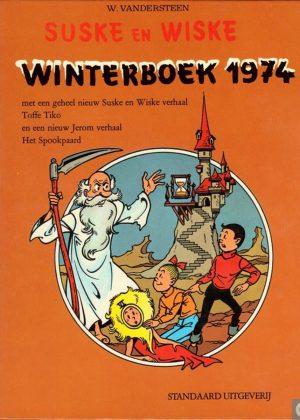 Suske en Wiske Winterboek - nr 2 - 1974 (HC)