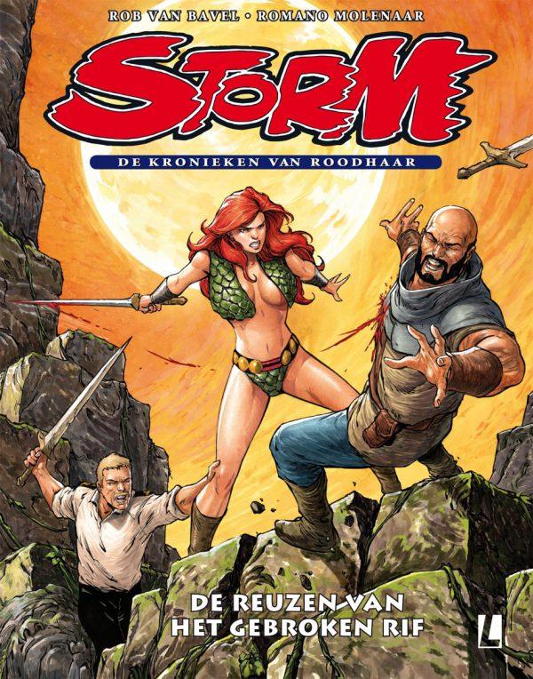 Storm, De kronieken van Roodhaar 5 - De reuzen van het Gebroken Rif (SC)