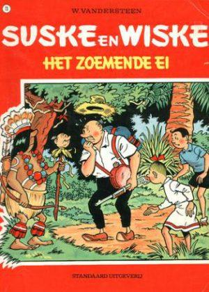 Suske en Wiske 73 - Het zoemende ei
