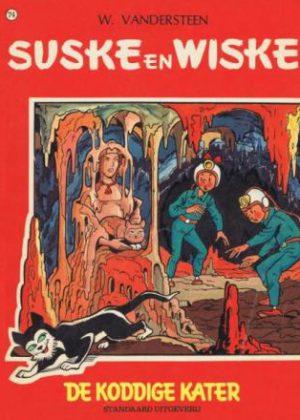 Suske en Wiske 74 - De koddige kater