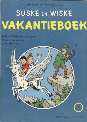 Suske en Wiske Vakantieboek 7 (HC)