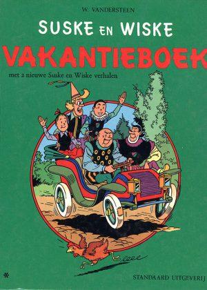 Suske en Wiske Vakantieboek 1973