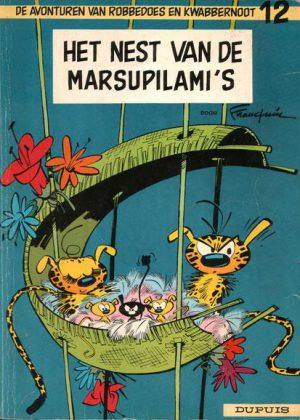 Robbedoes en Kwabbernoot 12 - Het nest van de Marsupilami's