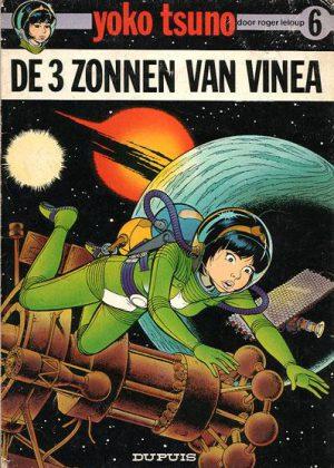 Yoko Tsuno - De 3 zonnen van Vinea