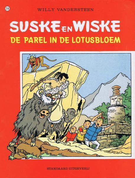 Suske en Wiske - De parel in de lotusbloem 214