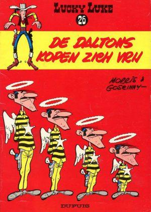 Lucky Luke 26 - De Daltons kopen zich vrij, 1e druk