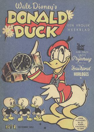 Donald Duck Nr 1 Oktober 1952