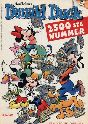 Donald Duck Nr 36, 2000 - (2500ste uitgave)