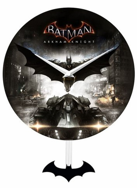 Batman Arkham Knight - Pendulem Wall Clock
