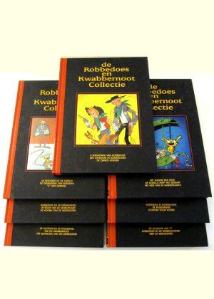 De Robbedoes en Kwabbernoot Collectie - 7 delen (HC)