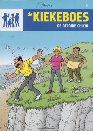 """""""De Kiekeboes 91 - De affaire Chichi"""