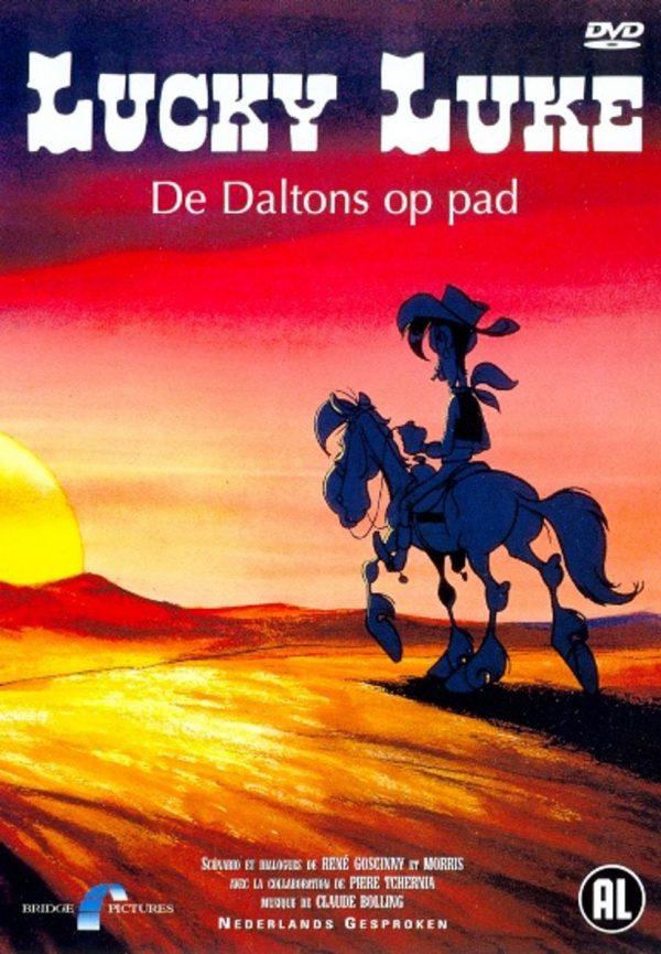 Lucky Luke - De Daltons op pad
