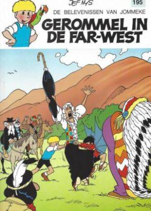 De belevenissen van Jommeke 195 – Gerommel in de FAR-West